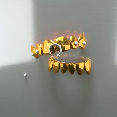 grillz anneau 3D